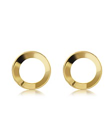 Mini Cosimo Gold Tone Earrings