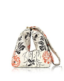 Flower Printed leather Tissue Bag - Victoria Beckham