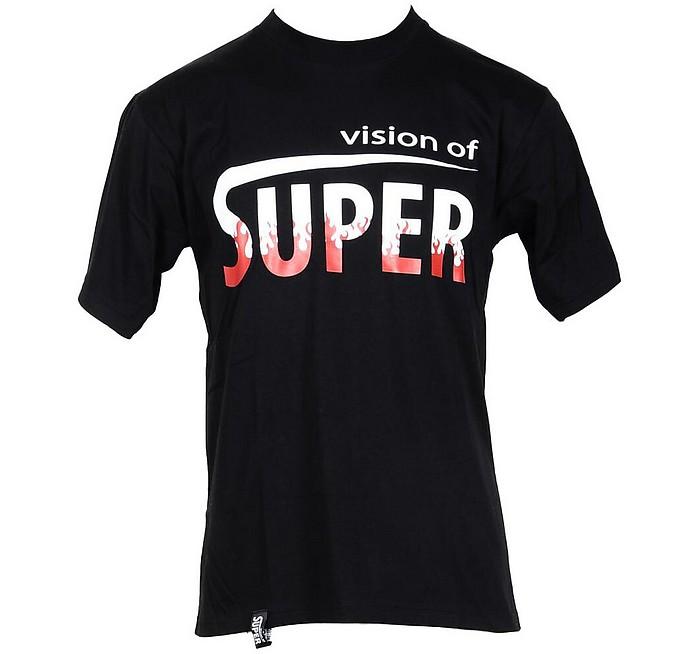 Men's Black T-Shirt - Vision Of Super