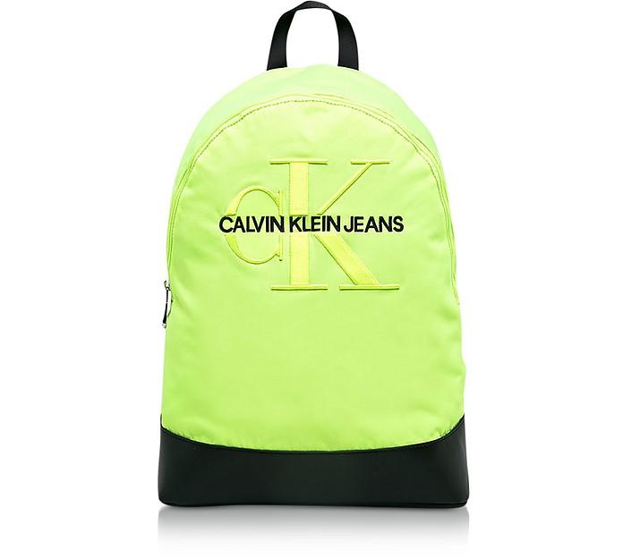Monogram Nylon 15' Laptop Backpack - Calvin Klein Collection