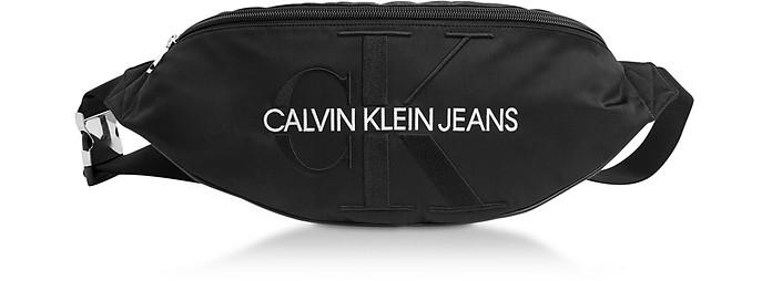 Monogram Nylon XL Streetpack Belt Bag - Calvin Klein Collection