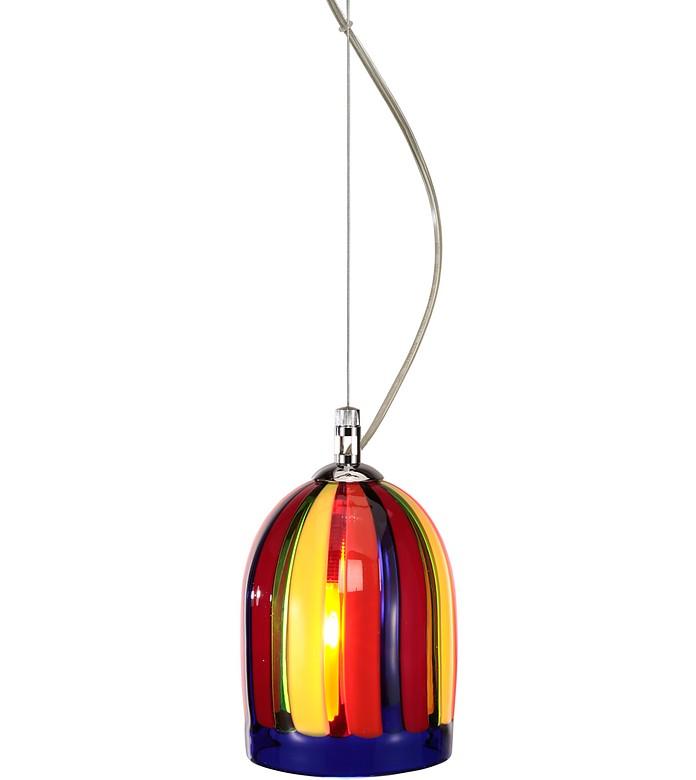 eleganza lampe abat jour fait main en verre de murano. Black Bedroom Furniture Sets. Home Design Ideas