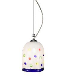 Meg - White Murano Handmade Glass Pendant Lamp - Voltolina