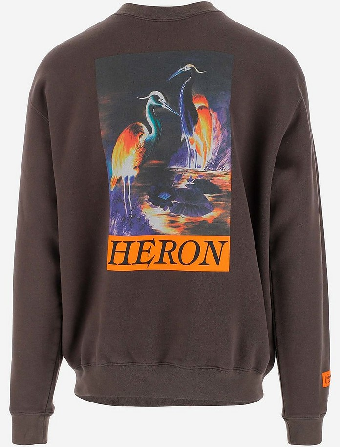 Heron Preston Cotton Men's Sweatshirt - Visvim