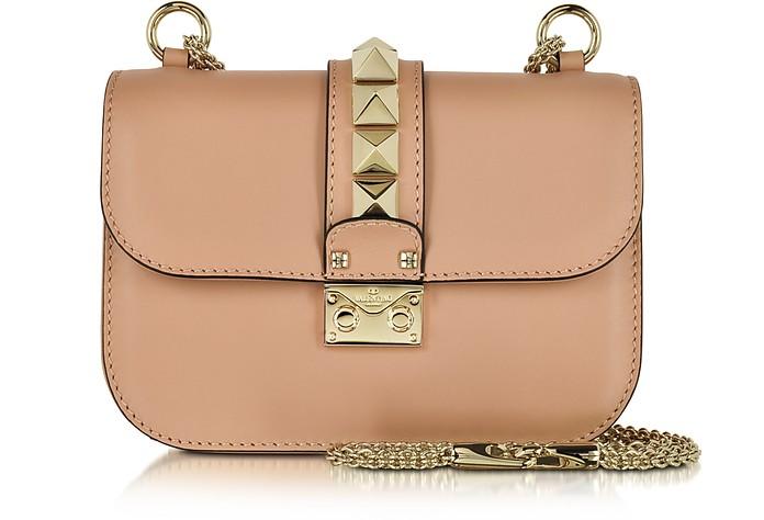 Skin Sorbet Leather Small Chain Crossbody Bag - Valentino