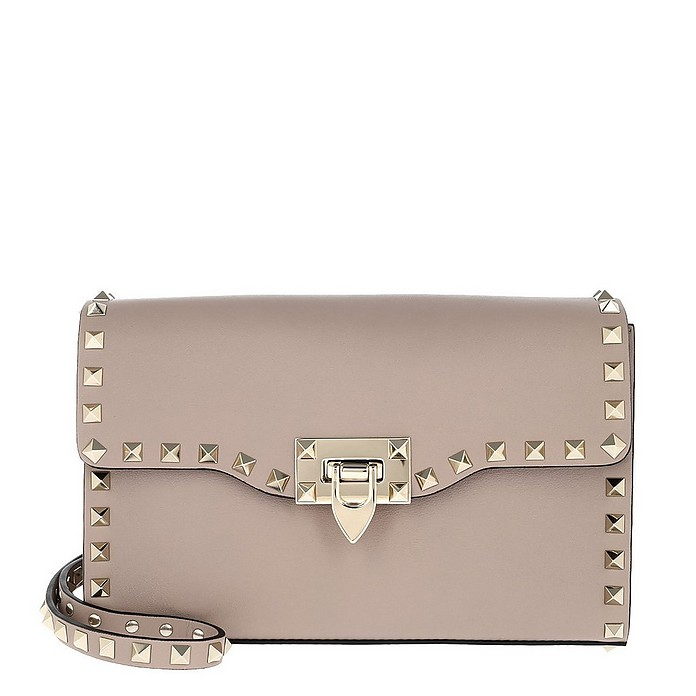 Rockstud Small Crossbody Bag Poudre - Valentino