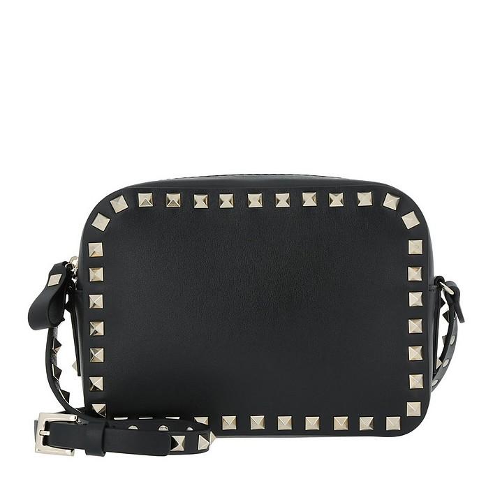 Rockstud Camera Crossbody Bag Black - Valentino / ヴァレンティノ