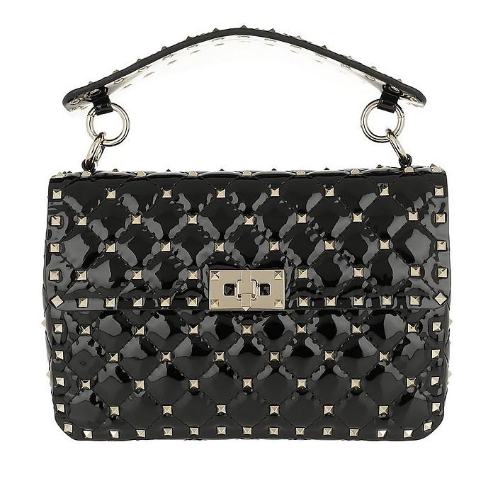 Rockstud Crossbody Bag 2 Leather Nero - Valentino