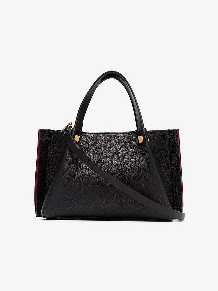 Valentino Totes VLOGO Small Leather Escape Tote Bag