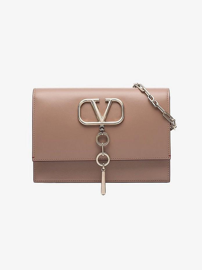 Nude Small VCase logo bag - Valentino