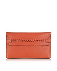 To Be Cool English Red Clutch