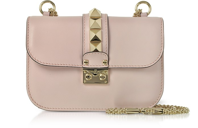 Lock Small Leather Chain Shoulder Bag - Valentino Garavani