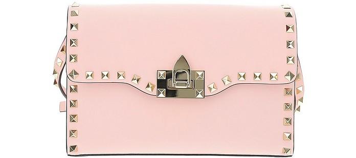Pink Rockstud Shoulder Bag - Valentino Garavani