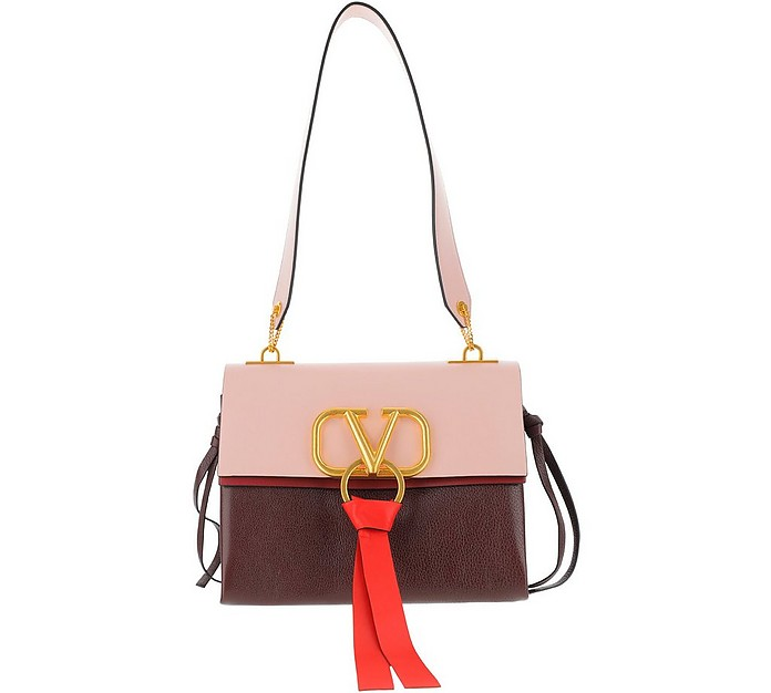 Color Block Vring Shoulder Bag - Valentino