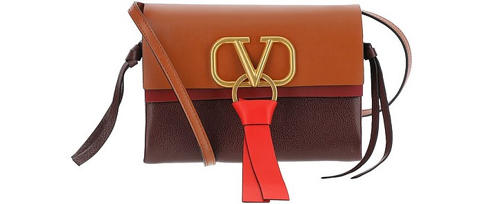 Color Block Vring Crossbody Bag - Valentino Garavani