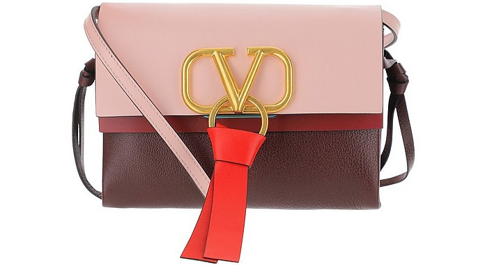 Color Block Vring Crossbody Bag - Valentino