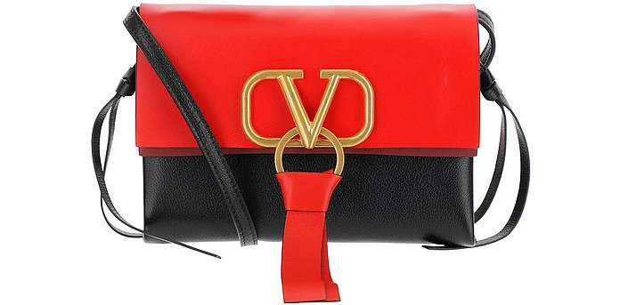 Color Block Vring Crossbody Bag - Valentino Garavani