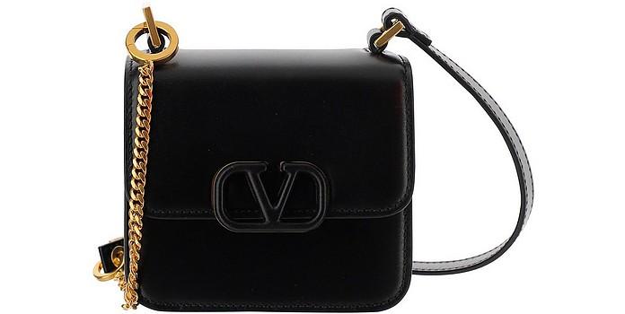 Black Leather VSling Mini bag - Valentino Garavani