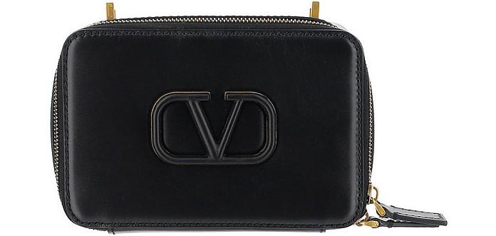 Black VSling Shoulder Bag - Valentino