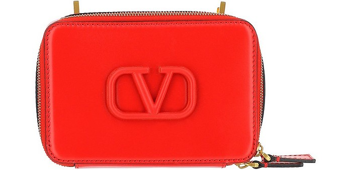 Red VSling Shoulder Bag - Valentino Garavani