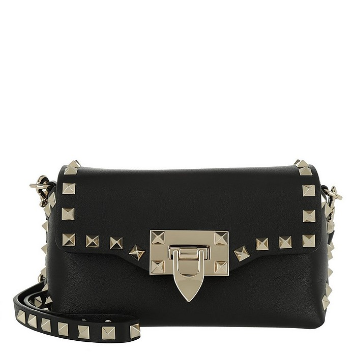 Rockstud Mini Crossbody Bag Black - Valentino