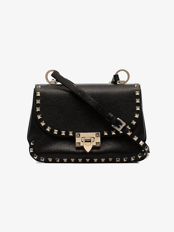 Black Garavani Rockstud BB shoulder bag - Valentino