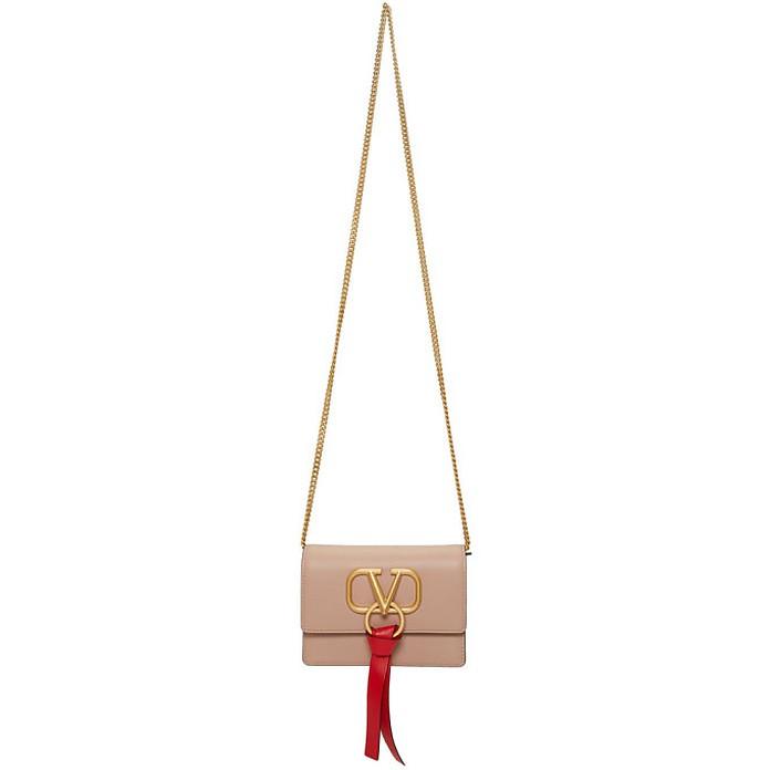 Pink Valentino Garavani VRing Chain Bag - Valentino