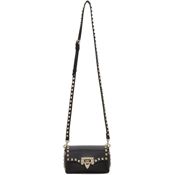 Black Valentino Garavani Mini Rockstud Crossbody Bag - Valentino