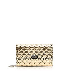 Quilted Leather Rockstud Spike Chain Bag - Valentino