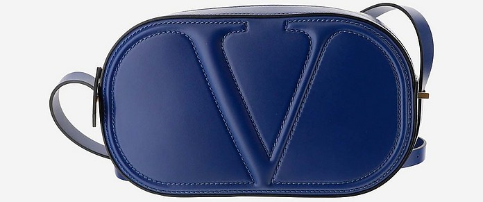Blue Vlogo Walk Shoulder Bag - Valentino
