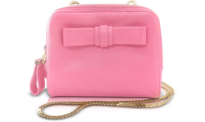 Small Zippered Leather Shoulder Bag - Valentino