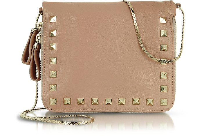 Rockstud - Zippered Shoulder Bag - Valentino Garavani