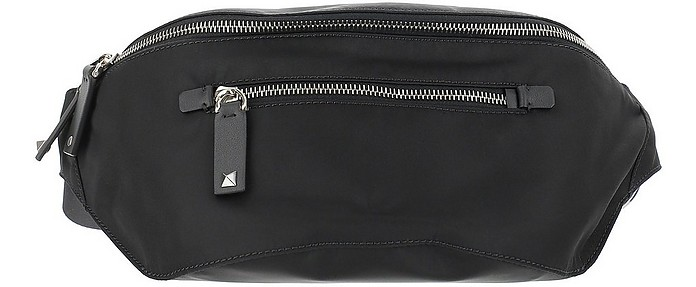 Black Nylon Vltn Belt Bag - Valentino