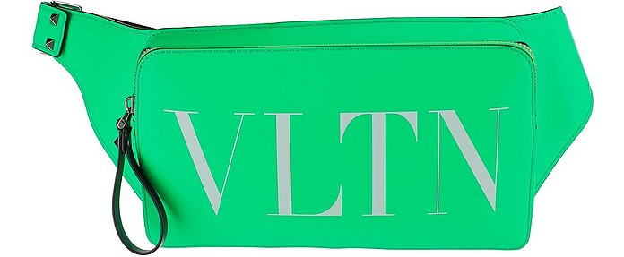 VLTN Fluorescent Green Belt Bag - Valentino / ヴァレンティノ