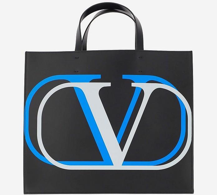 Blue And Green shopper - Valentino