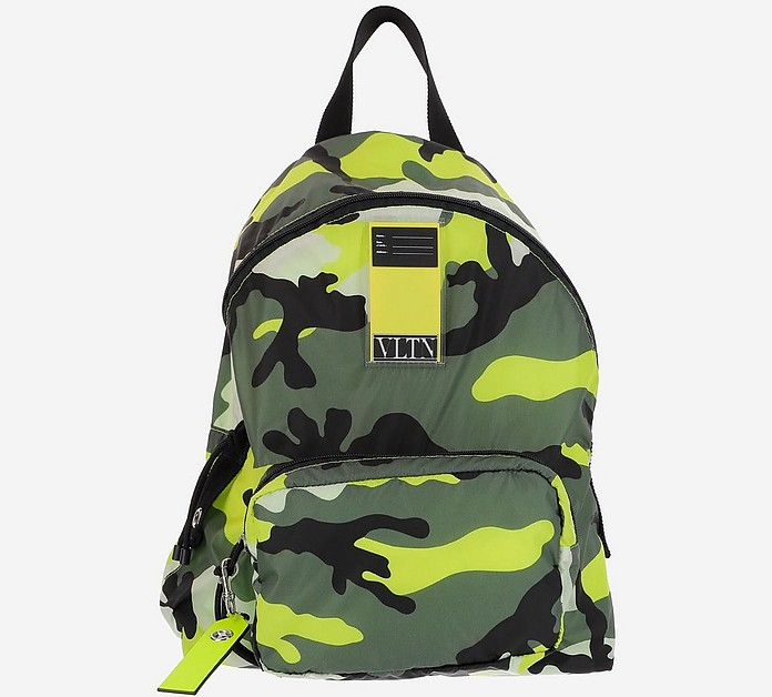 Camuflage VLTN Nylon Backpack - Valentino / ヴァレンティノ