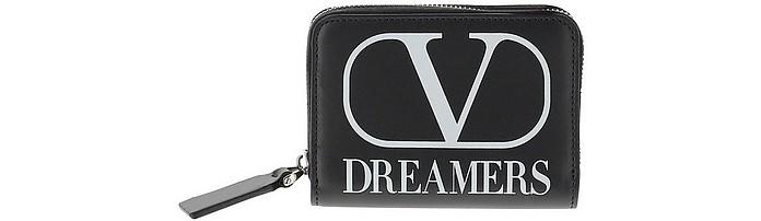 Black VLTN Leather Wallet - Valentino / ヴァレンティノ