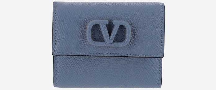 Navy wallet - Valentino Garavani