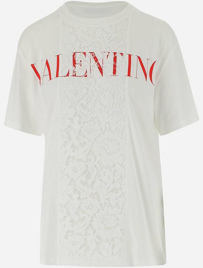 Women's Shortsleeves_Tshirt - Valentino Garavani