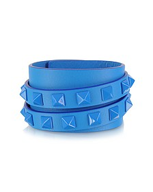 Double Rockstud Wrap Bracelet
