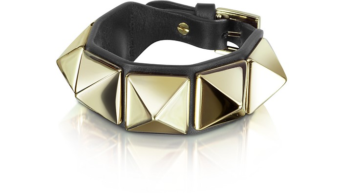 Rockstud Leather Bracelet - Valentino