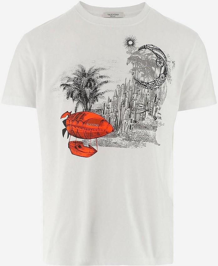 Men's Polo Shirt W/Short Sleeve - Valentino