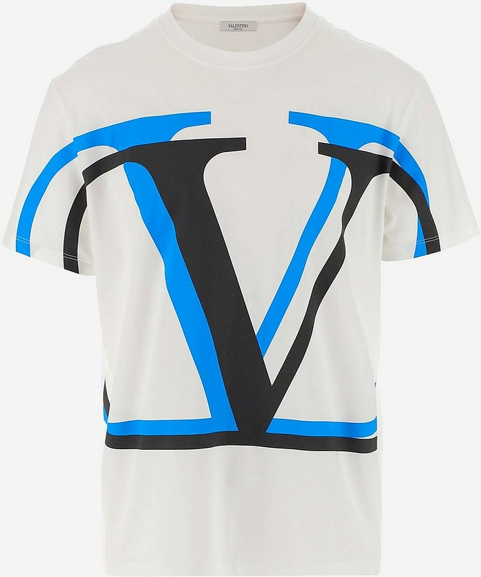 Men's Polo Shirt W/Short Sleeve - Valentino Garavani