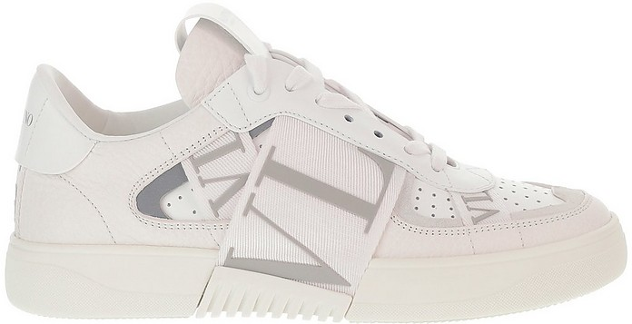 VL7N White Leather Women's Sneakers - Valentino