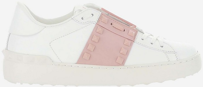 White Rockstud Untitled Sneakers - Valentino