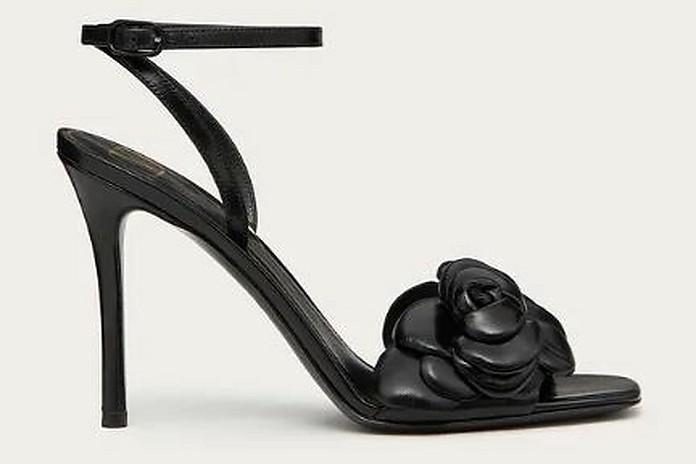 Black And Grey High Heels - Valentino