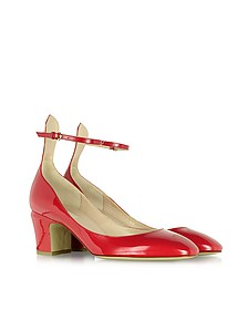 Tango Red Patent Leather Pump