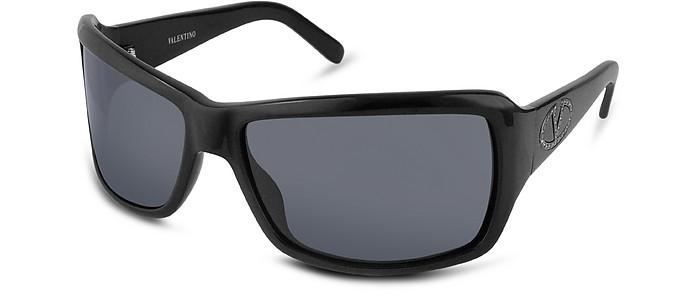 Plastic Logo Sunglasses - Valentino