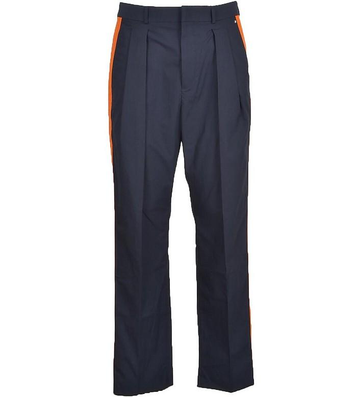 Men's Blue Pants - Valentino