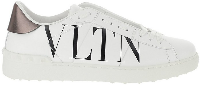 White Low Top Sneakers - Valentino